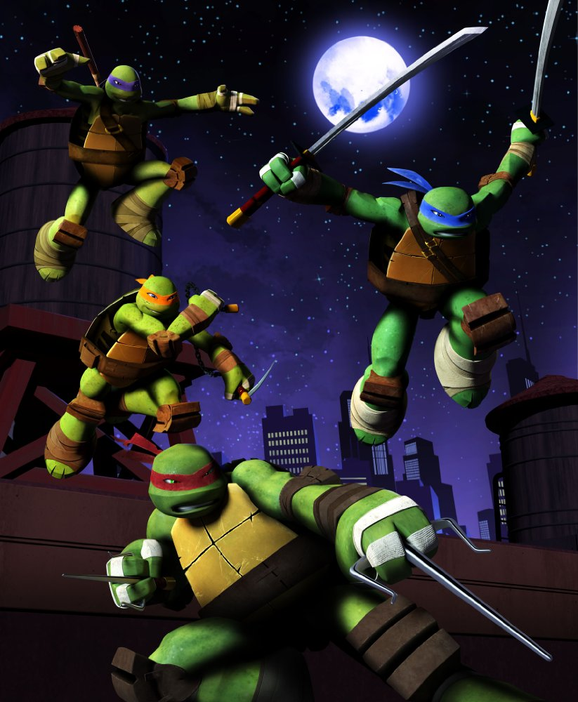 Teenage Mutant Ninja Turtles - Season 5 2017