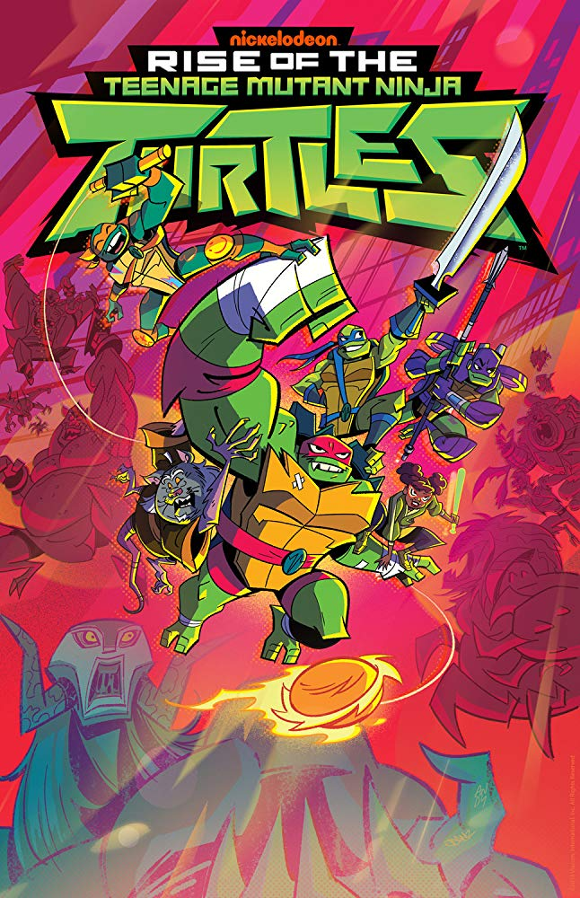 Rise of The Teenage Mutant Ninja Turtles - Season 1