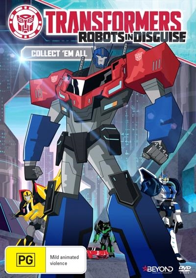 Transformers Robots In Disguise - Season 3